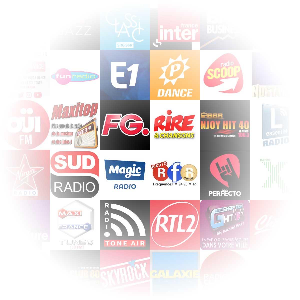 Radios françaises, belges, suisses, canadiennes... Nationales et indépendantes